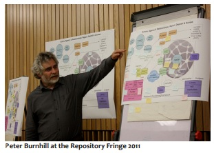 Image of Peter Burnhill at the Repository Fringe in 2011