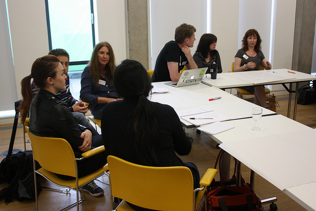 Participants in the Open Access and Academia Round Table